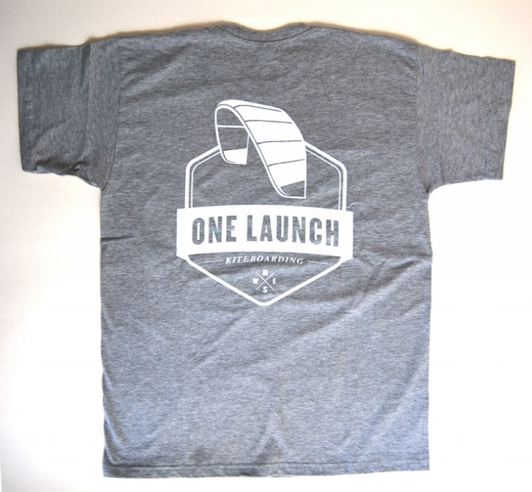 Tshirt one launch kiteboarding