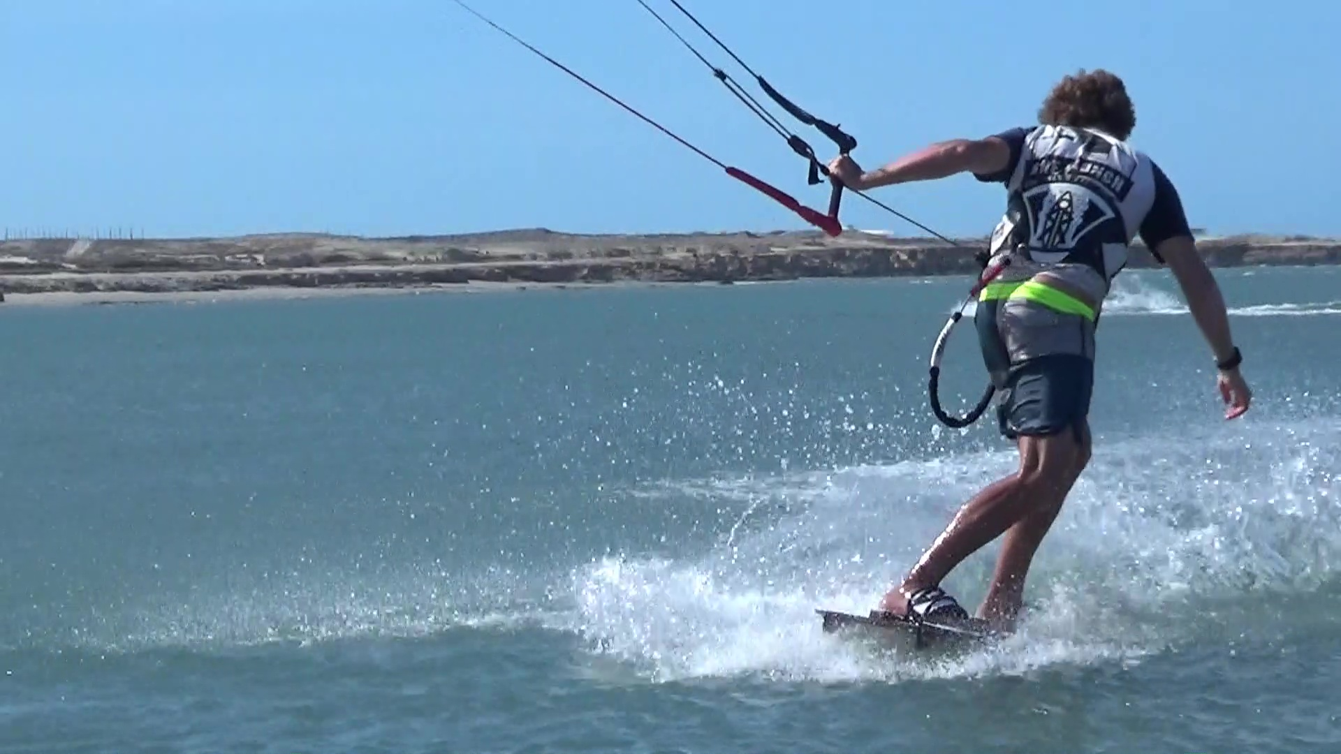 riding blind tuto kiteboarding