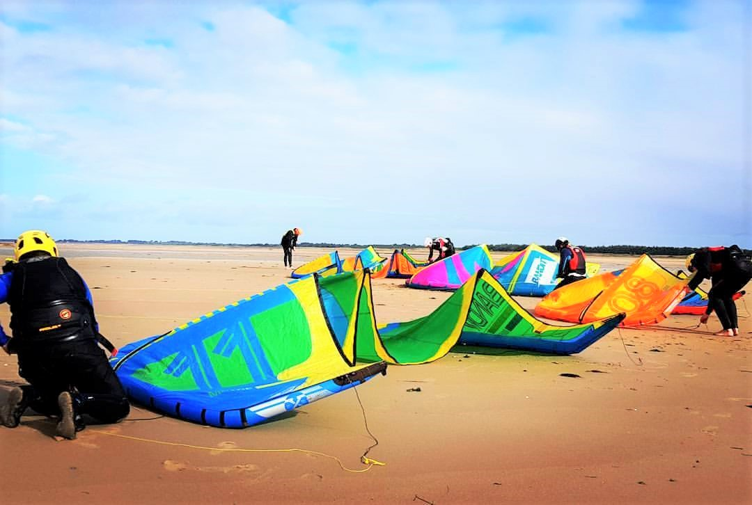 kite surf noirmoutier