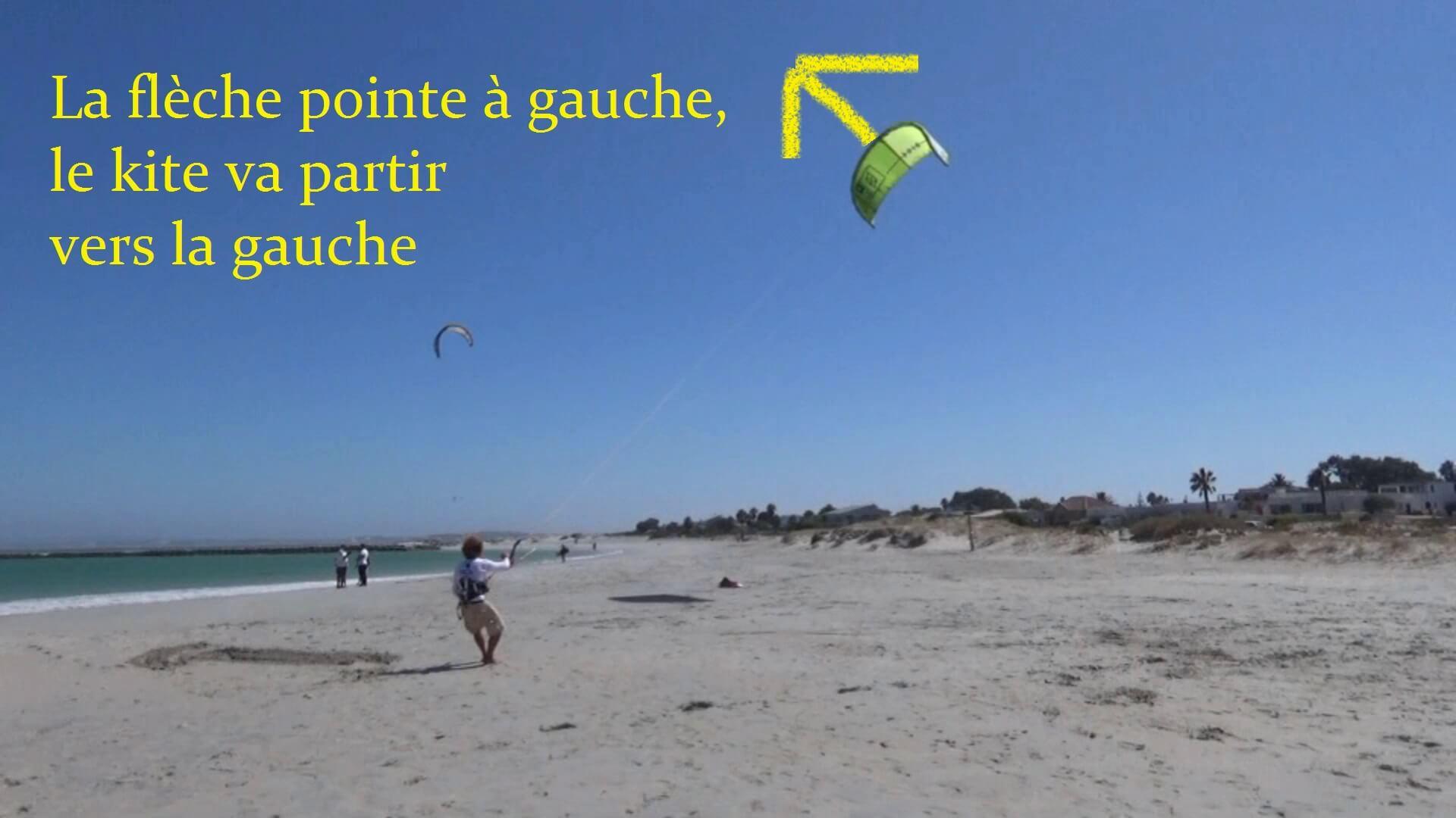pilotage aile de kite