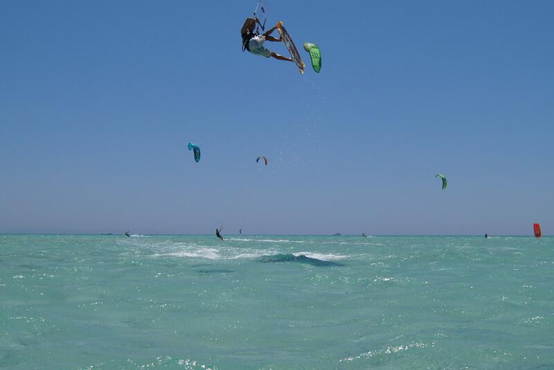 El gouna kiteboarding