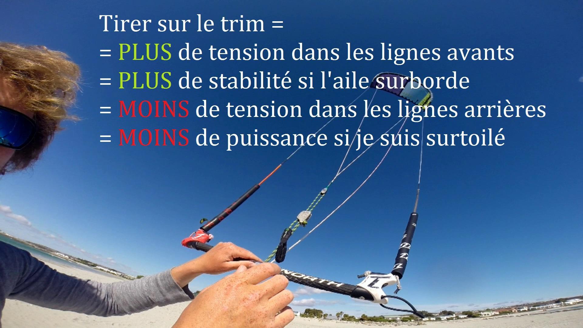 regler aile de kitesurf