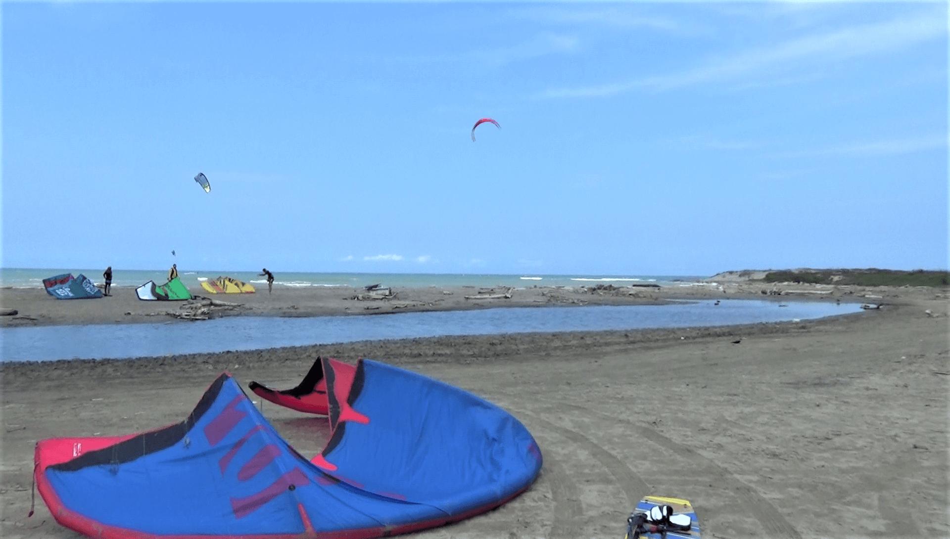 kiteboarding santa veronica