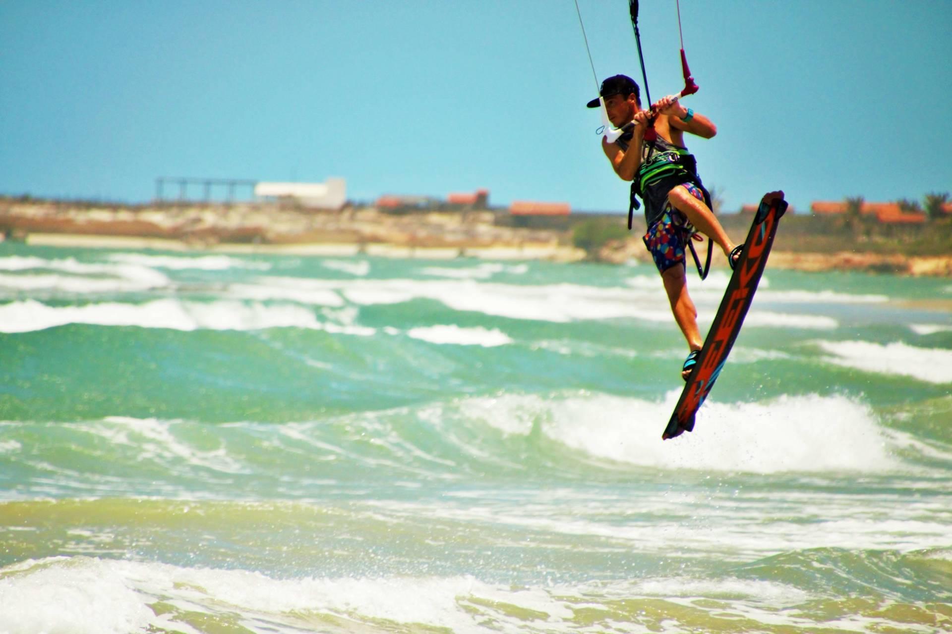 Pontal de maceio kiteboarding