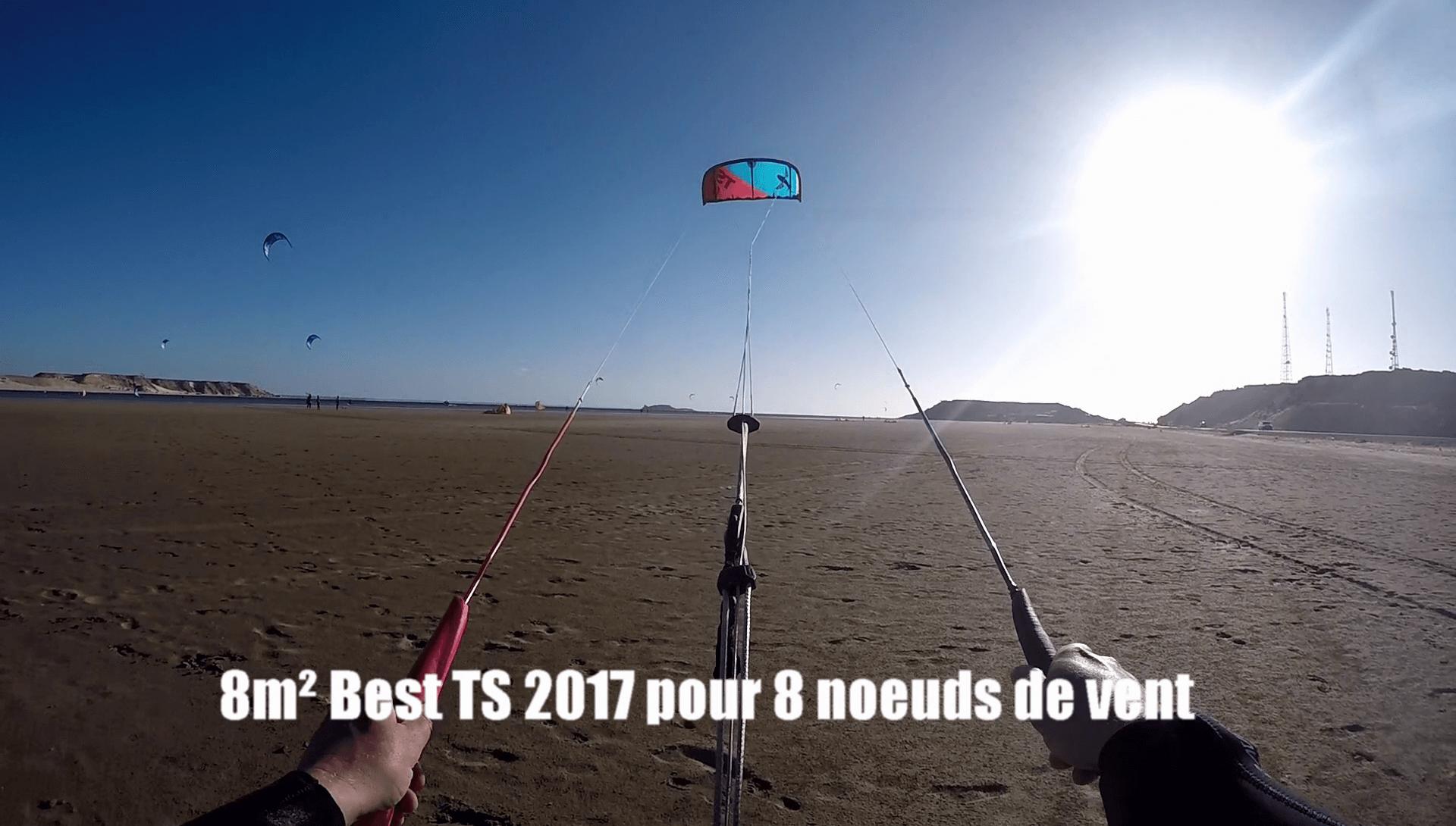 pilotage light wind kitesurf