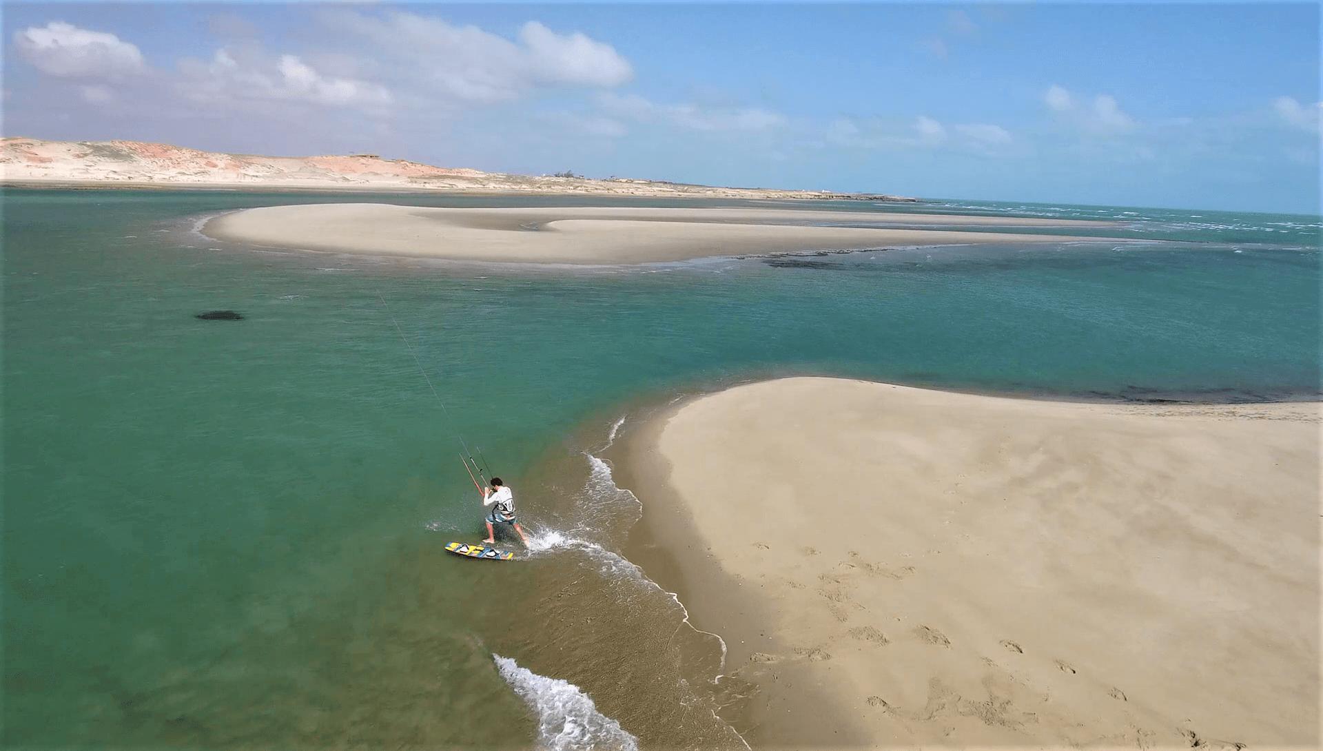 Kiteboarding beach start tutorial