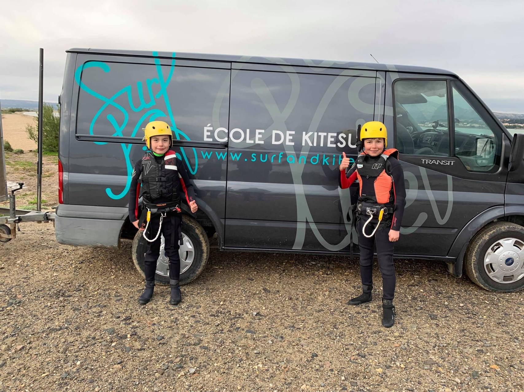 école de kitesurf leucate