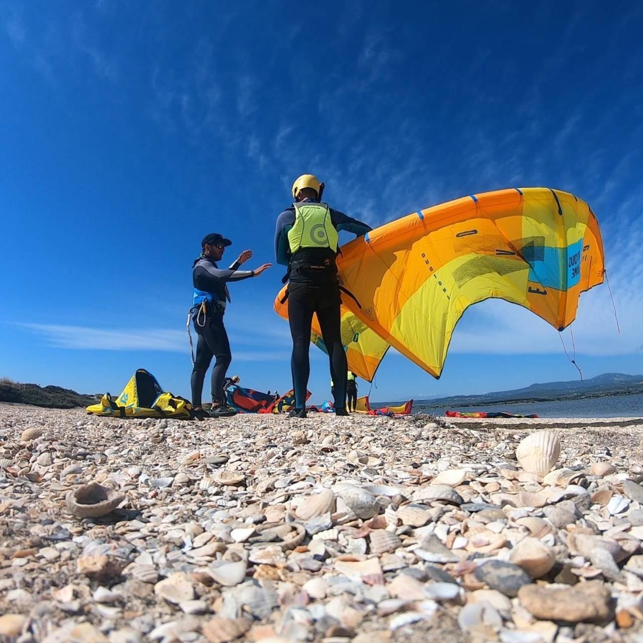 école de kitesurf étang de la palme