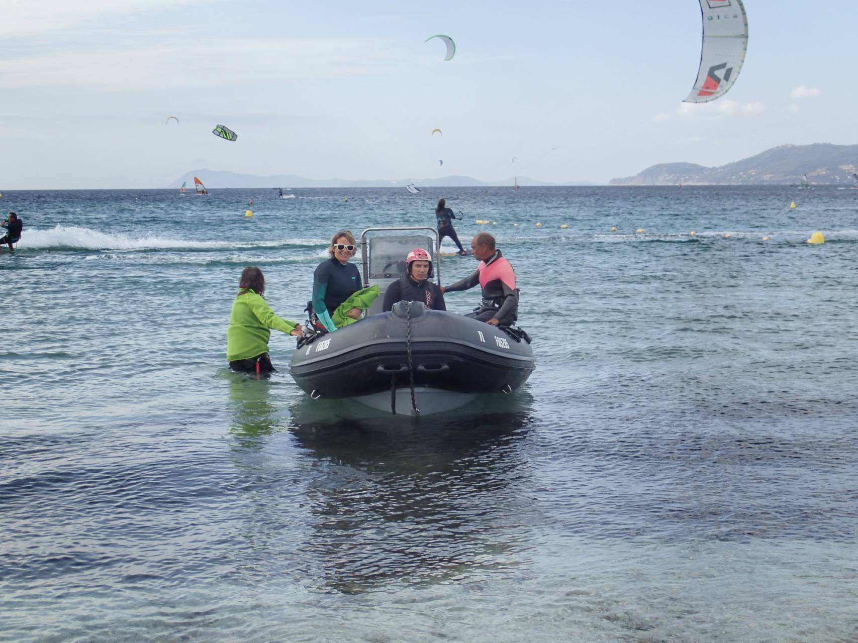 kitesurf handicapé