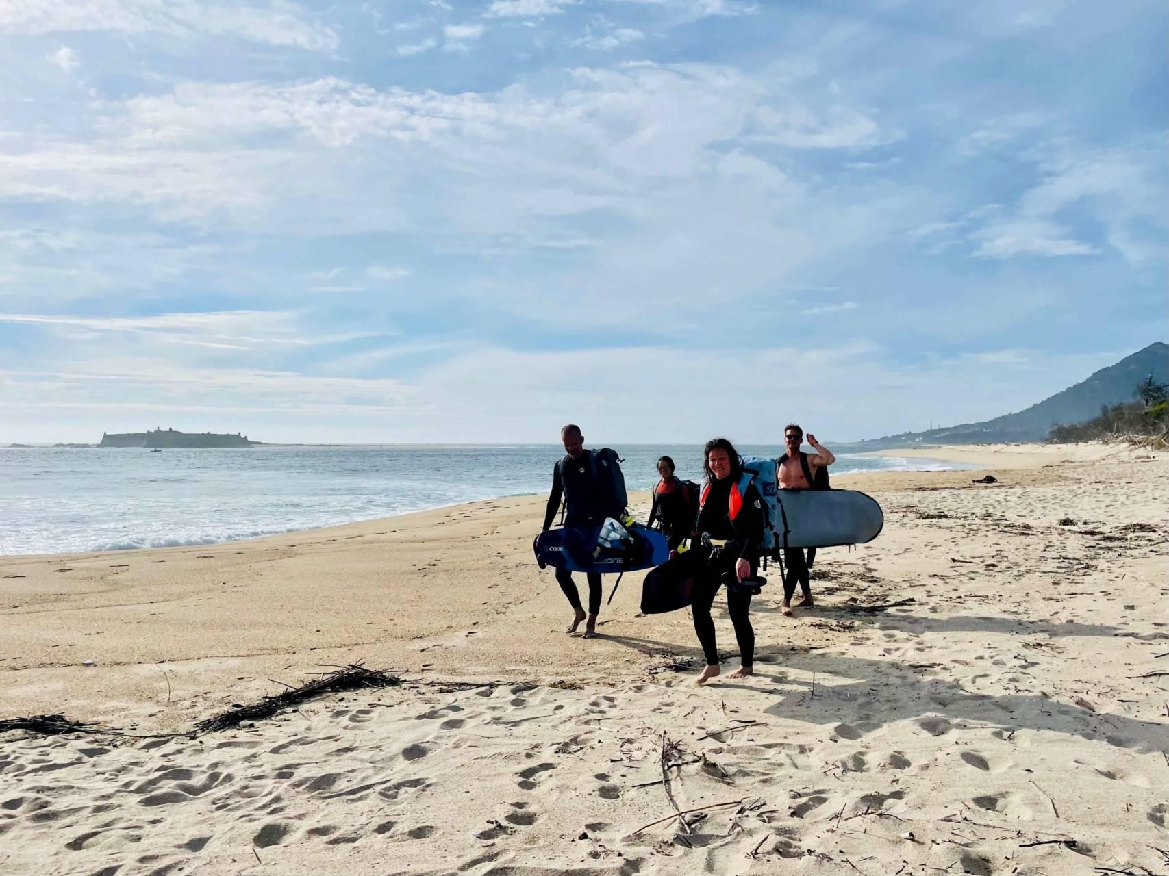 ecole de kitesurf portugal moledo
